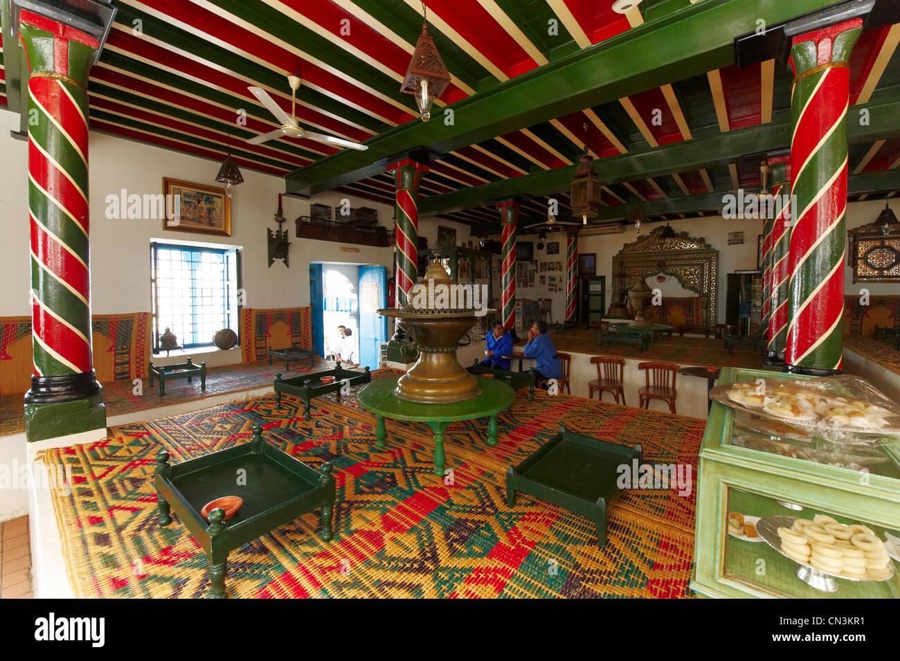 Africa Tunisia Sidi Bou Restaurant Stock Photos & Africa Tunisia ...