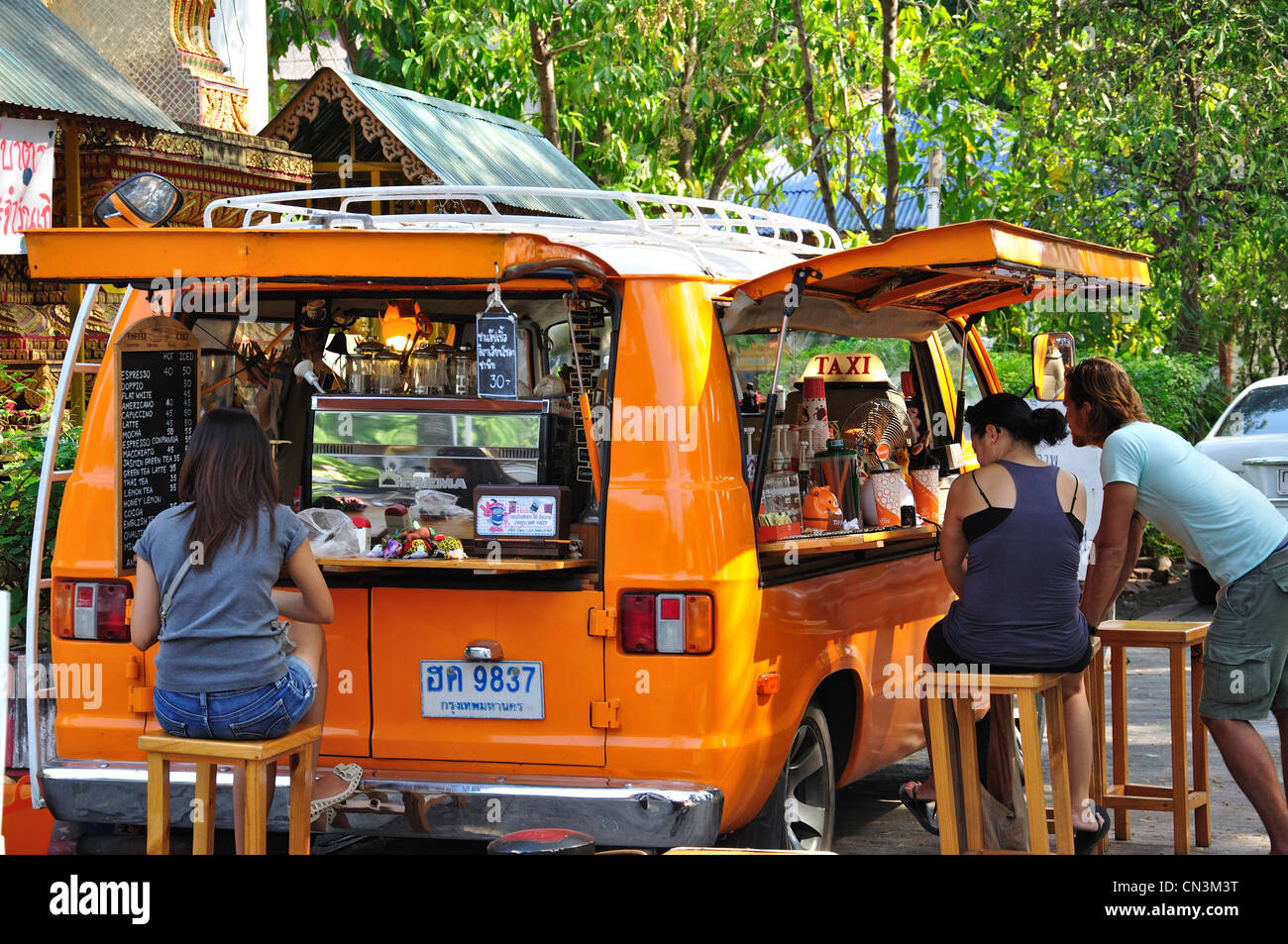 Mobile coffee van chiang mai chiang mai province for Thailand mobel