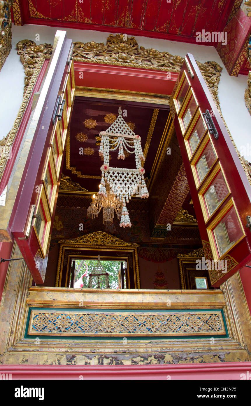 Thailand, Bangkok. The Prasart Museum. Private collection of Asian art and artifacts. - Stock Image