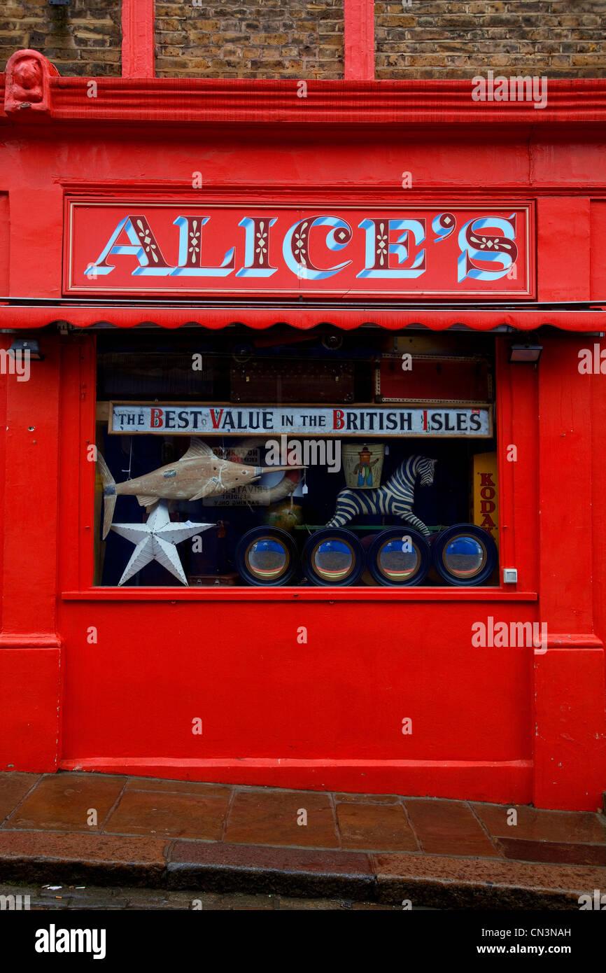 United Kingdom, London, Notting Hill, Portobello Road - Stock Image