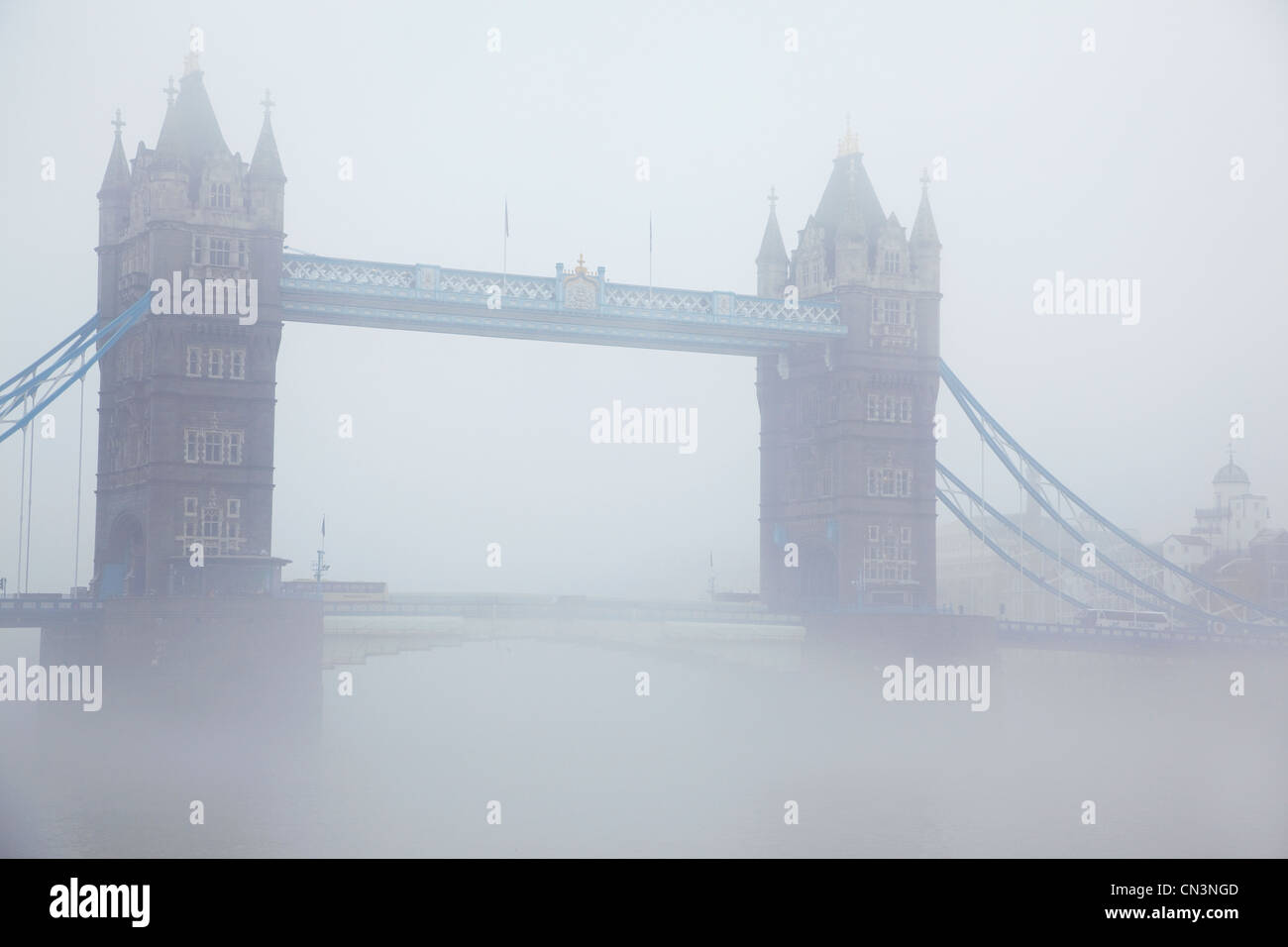 United Kingdom, London, Tower Bridge, bridge across the Thames linking the district of Southwark on the South bank Stock Photo