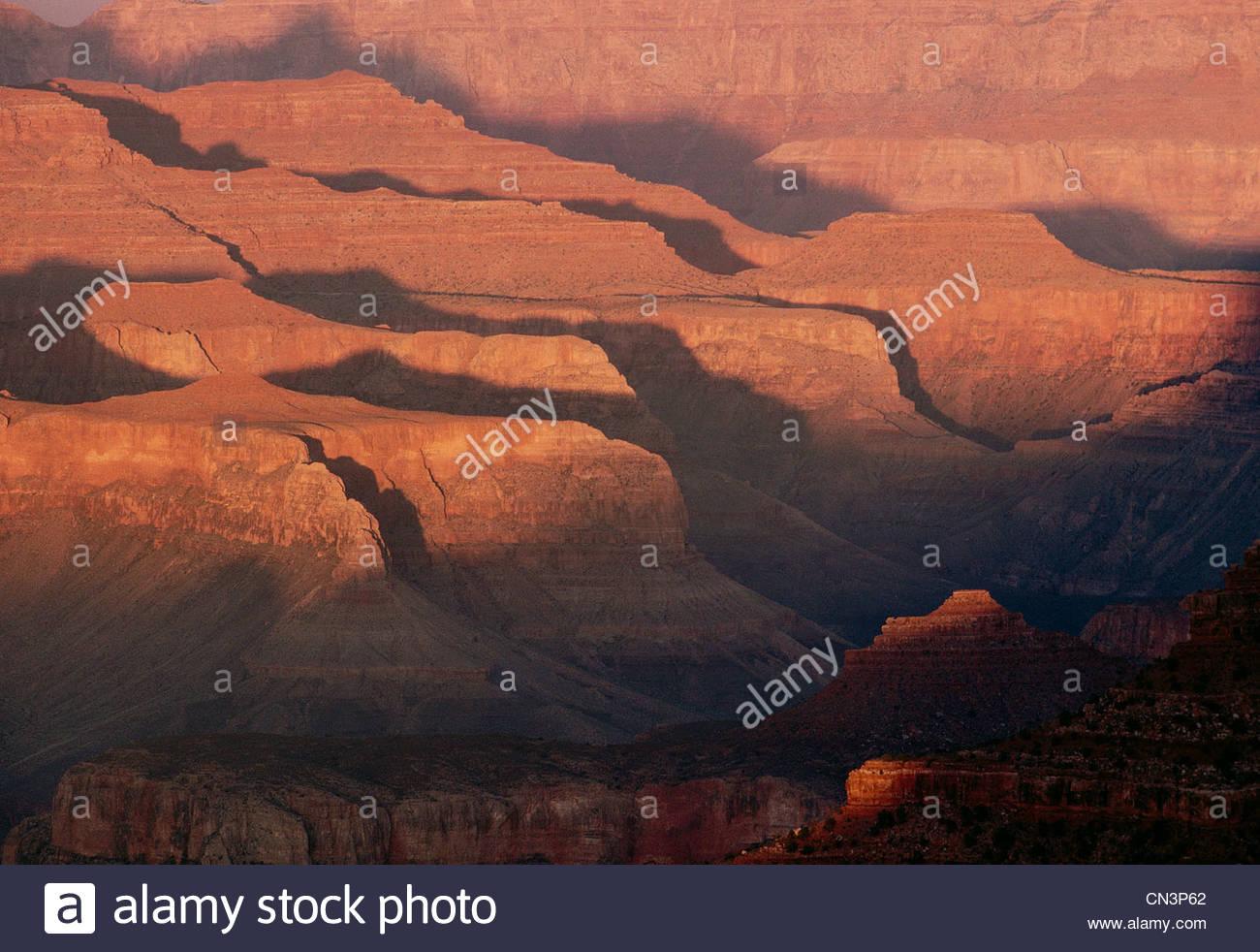 Grand Canyon National Park, Arizona - Stock Image
