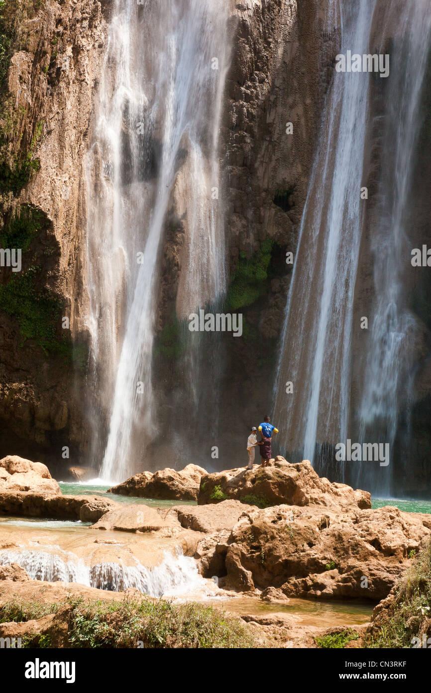 Myanmar (Burma), Mandalay division, Pyin U Lwin, Anisakan waterfalls - Stock Image