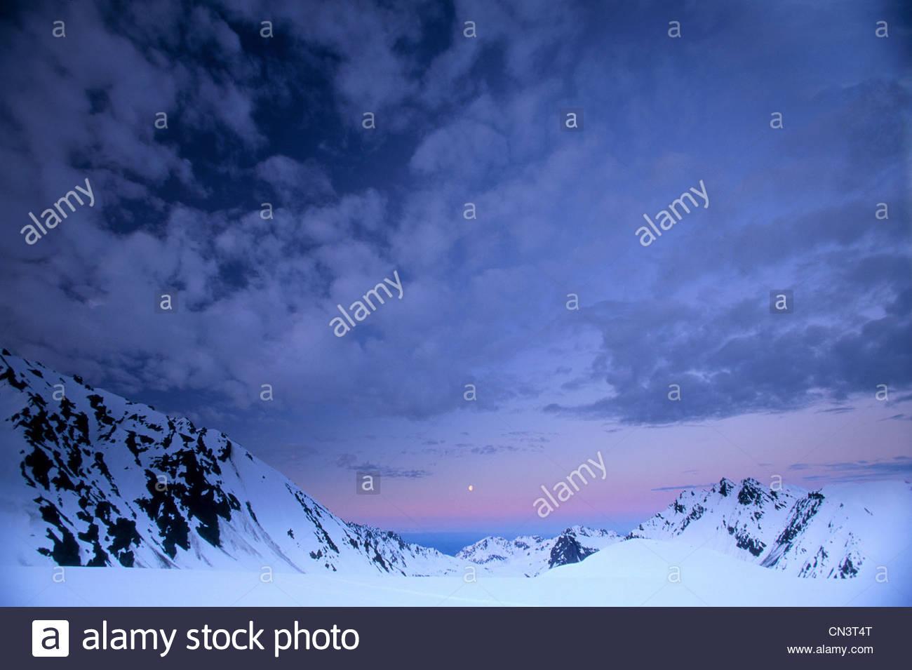 Alaska Range, Alaska - Stock Image