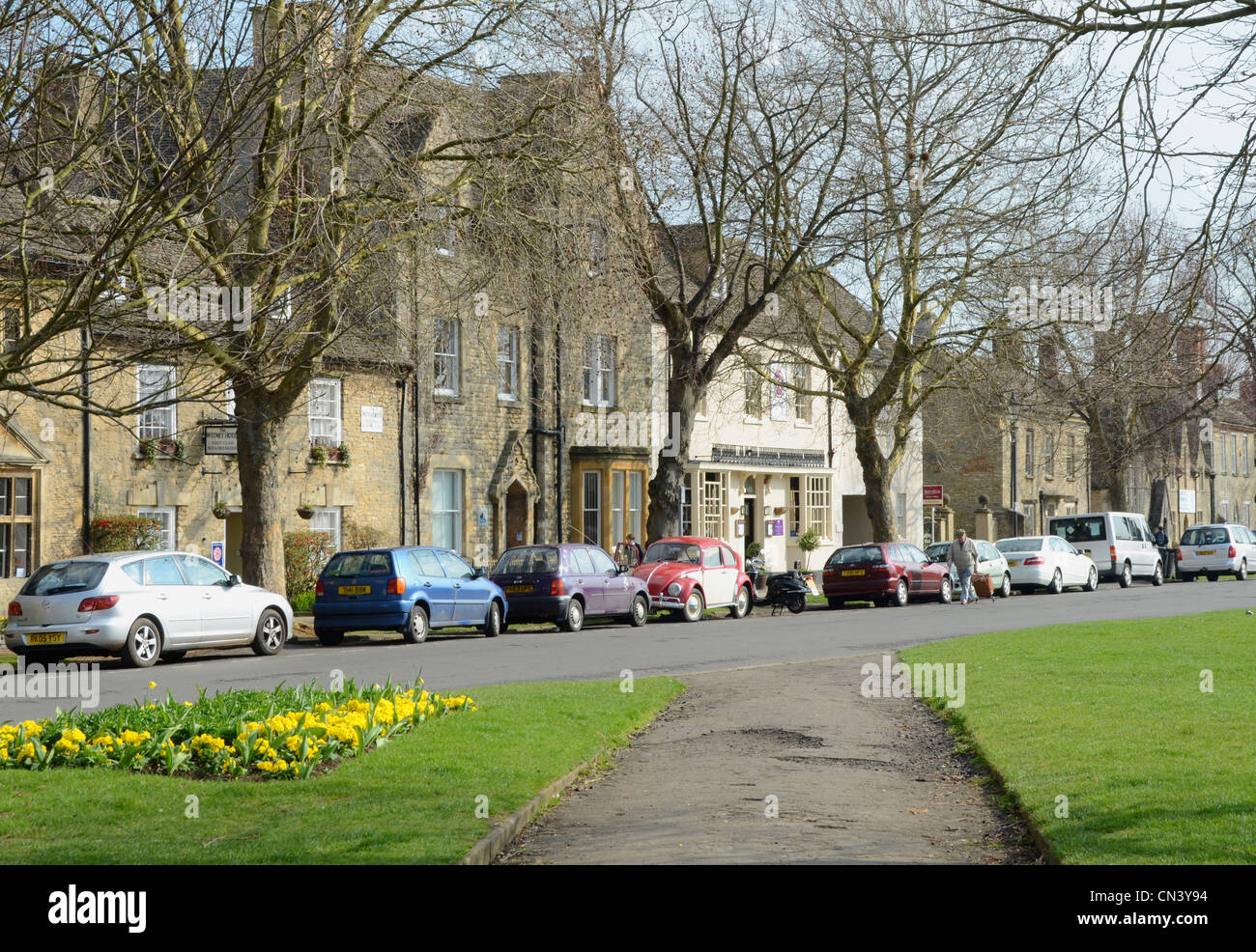 View of Church Green, Witney, Oxon - Stock Image