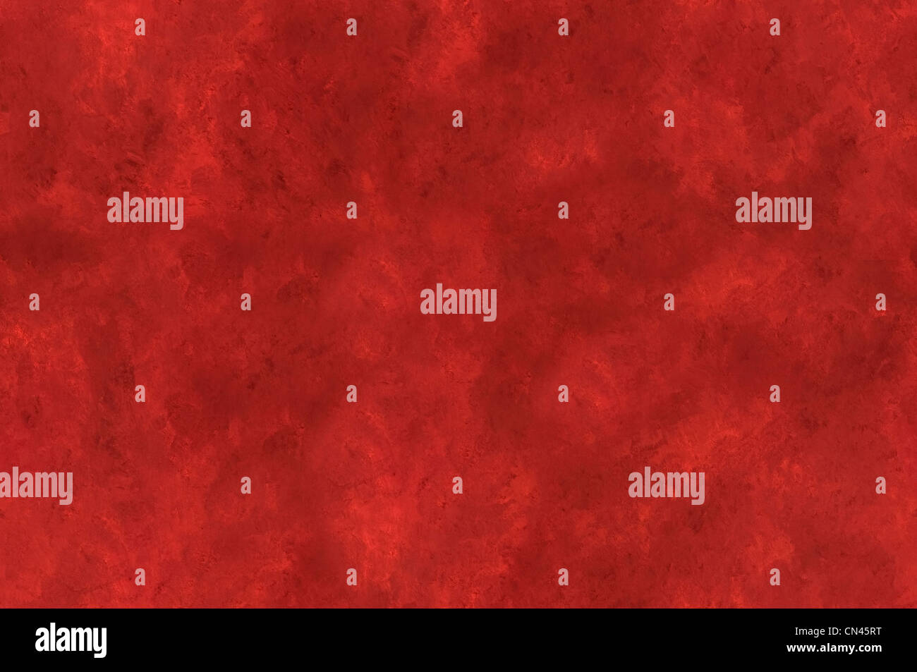 Red mottled canvas background seamlessly tileable - Stock Image