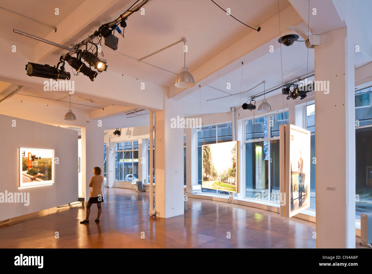 United Kingdom, London, Bankside, The Wapping Project Bankside, contemporary photography gallery - Stock Image