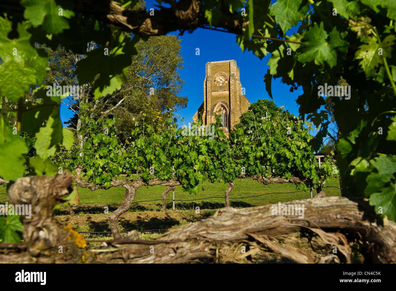 Australia, South Australia, La Clare valley, Seven hills cellar, the oldest cellar in the valley Stock Photo