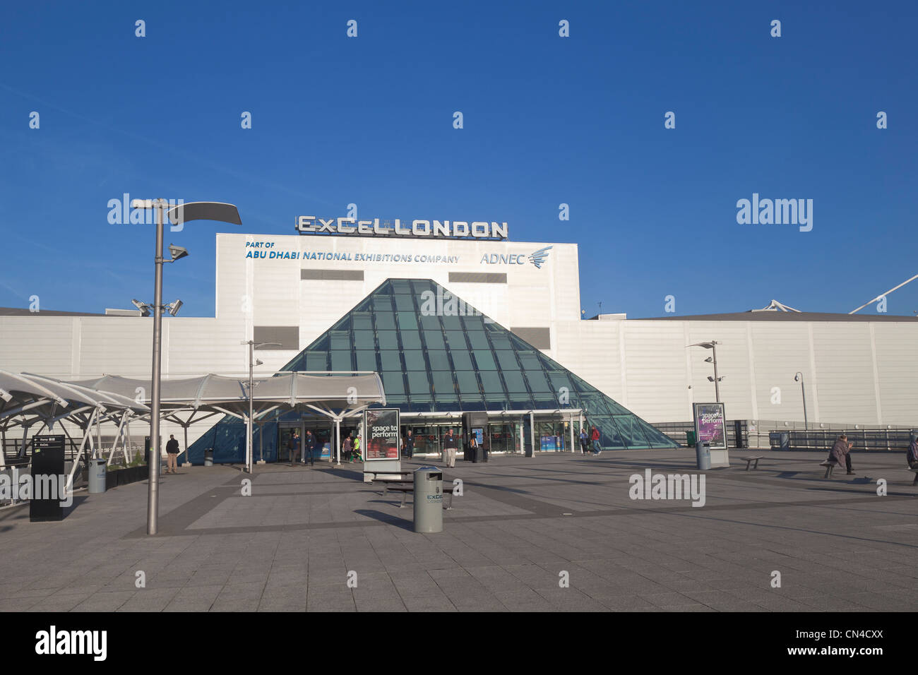 ExCeL centre, London, England - Stock Image