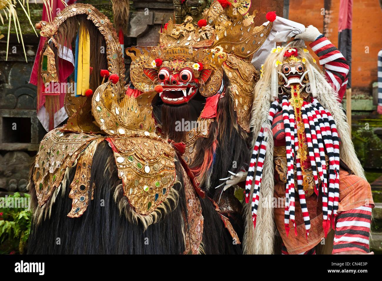 Barong Dance Mask Of Lion Stock Photos & Barong Dance Mask