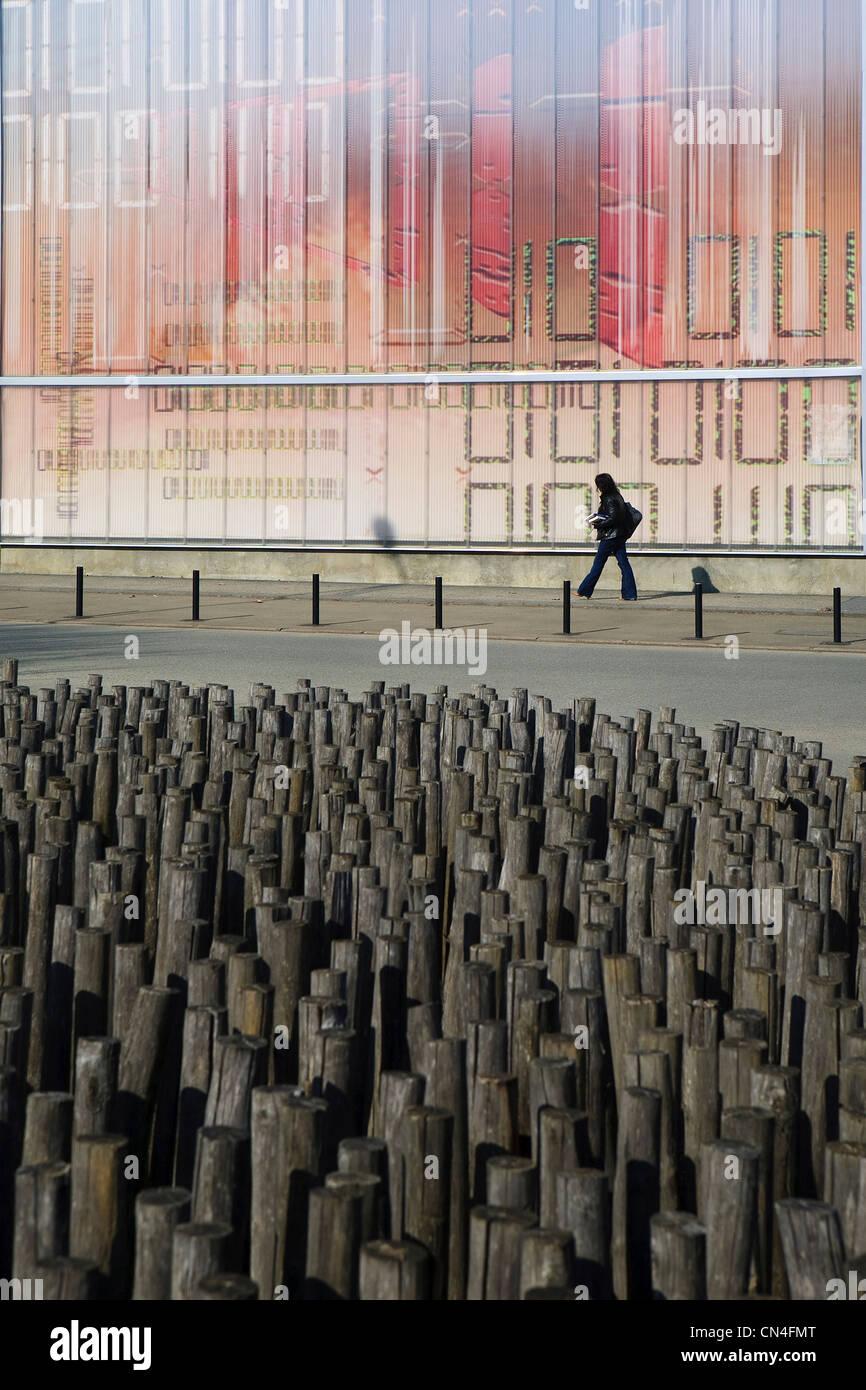 Architecte Le Mans france, sarthe, le mans, university district, architecture