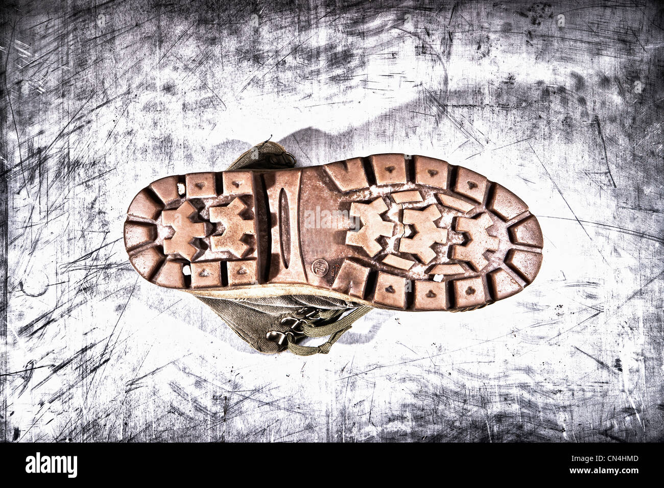 Boot sole - Stock Image