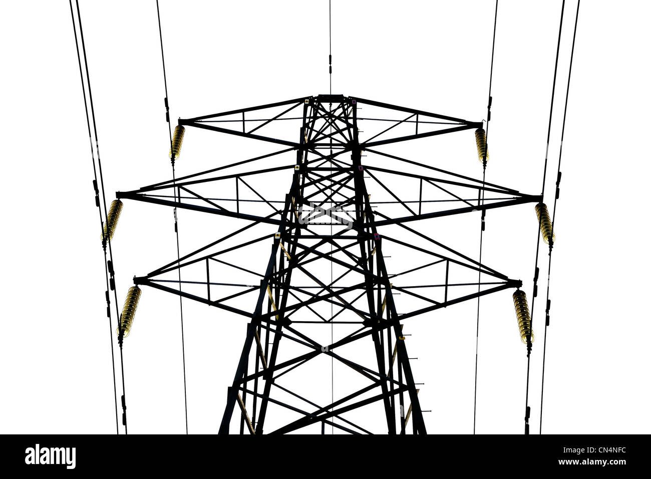 ELECTRICITY  PYLON ELECTRIC - Stock Image