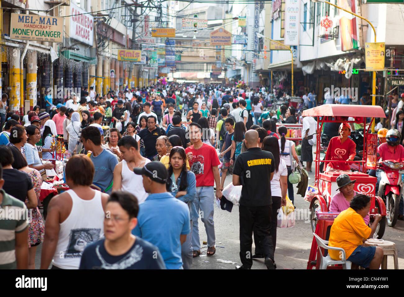 Philippines Luzon Island Manila Quiapo District Stock Photo