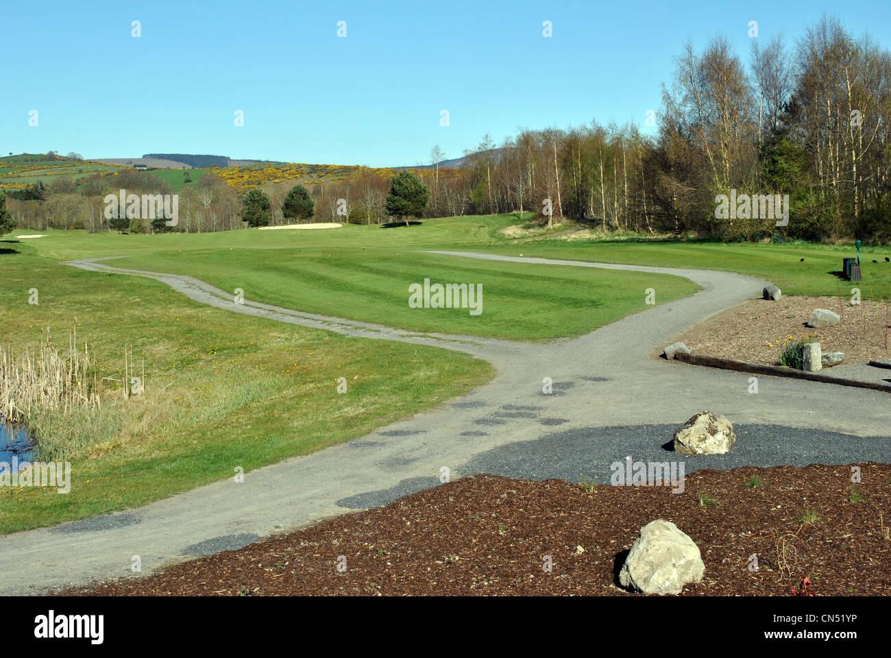 parkland golf course - Stock Image