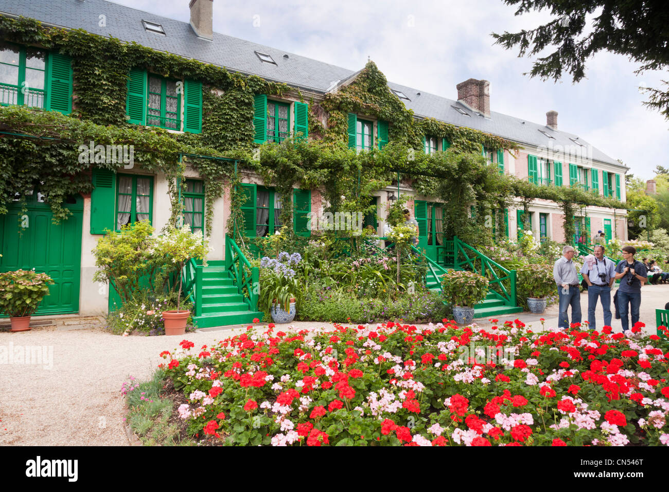 House of Claude Monet, Giverny, France. - Stock Image