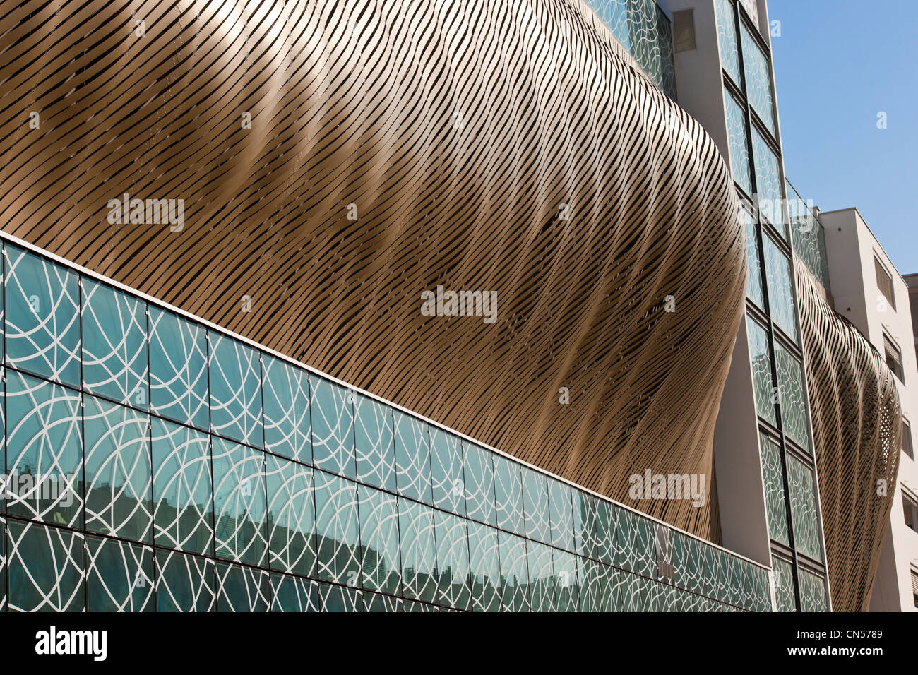 Relay France Stock Photos Images Alamy Terminal 3 Cdg Isere Grenoble The Carpark Vallier Catane Built In 2006 By