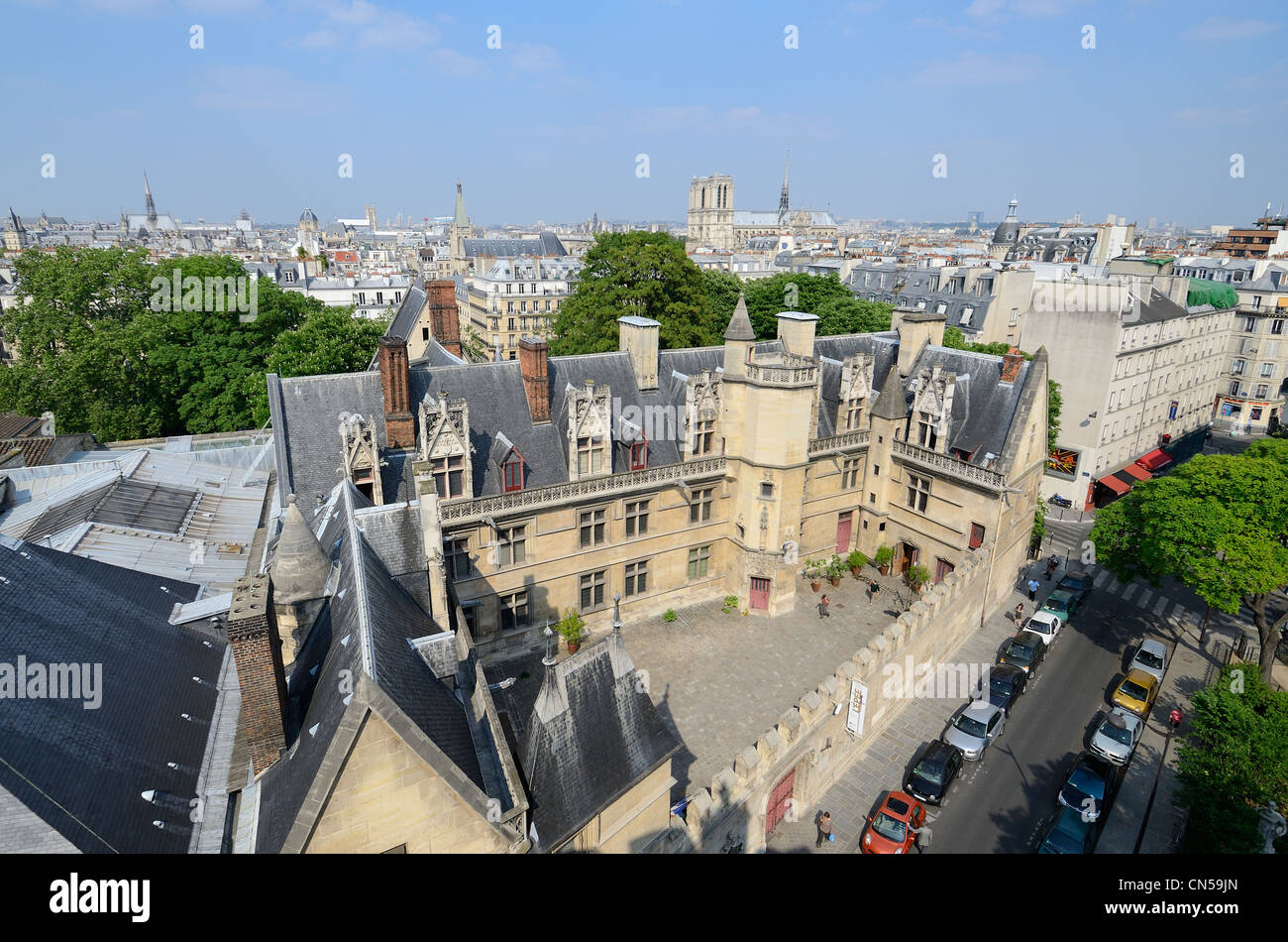France, Paris, Cluny National museum of Middle Ages - Stock Image