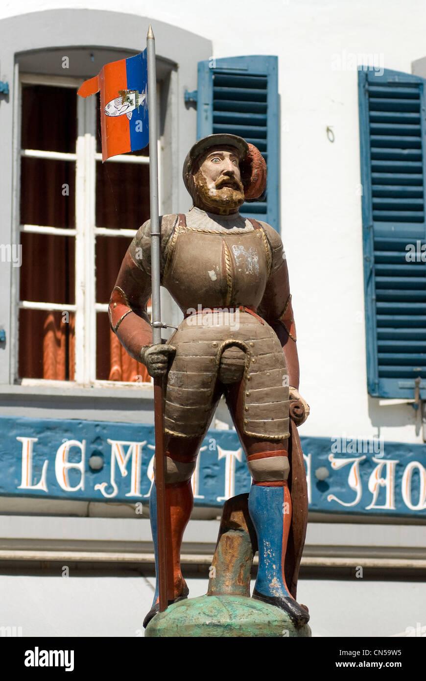 Switzerland, Canton of Vaud, Nyon, Le Maitre Jacques restaurant - Stock Image