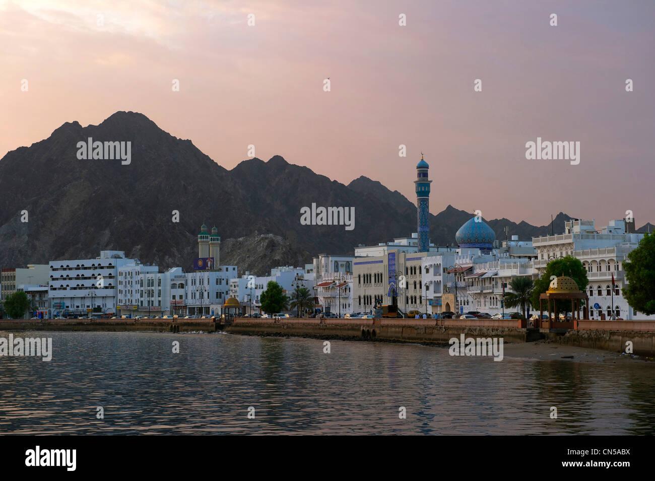 Sultanate of Oman, Muscat, Muttrah corniche - Stock Image
