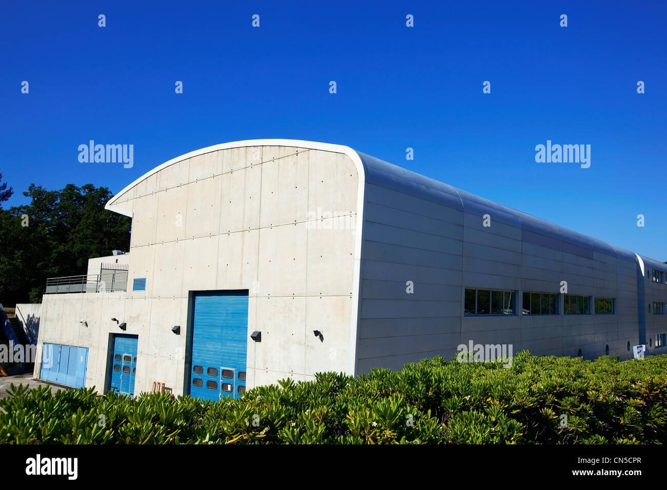 France, Bouches du Rhone, Marseille, 9th district, the Technopole de Luminy, Centre for Particle Physics of Marseille - Stock Image