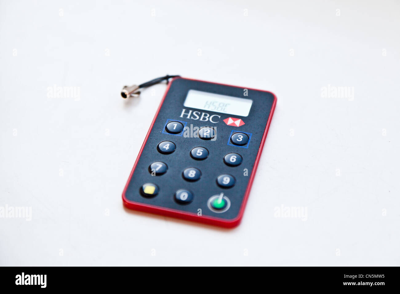 The new key code generator from HSBC bank which is now