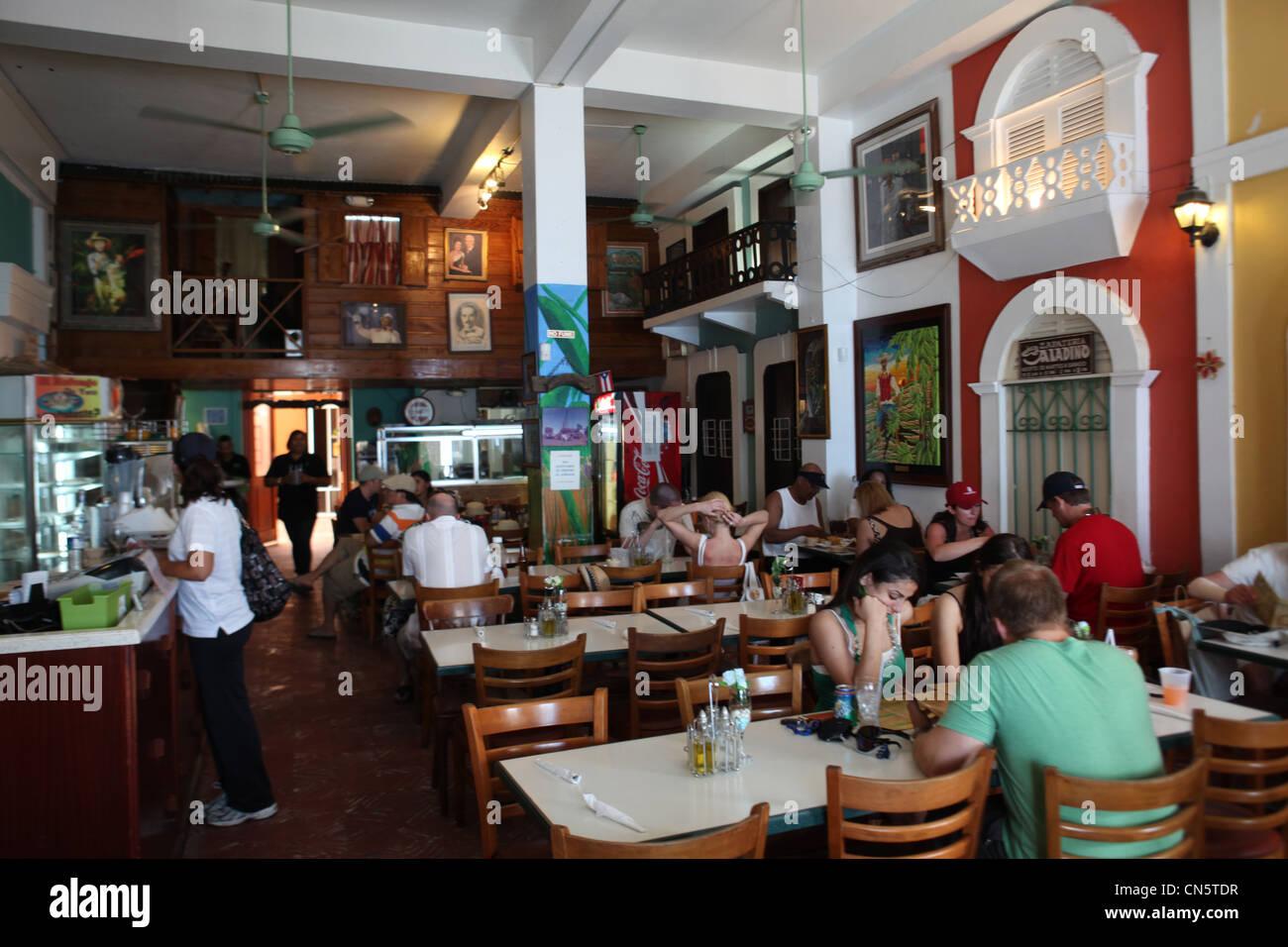 San Juan Puerto Rico Restaurant Stock Photos San Juan