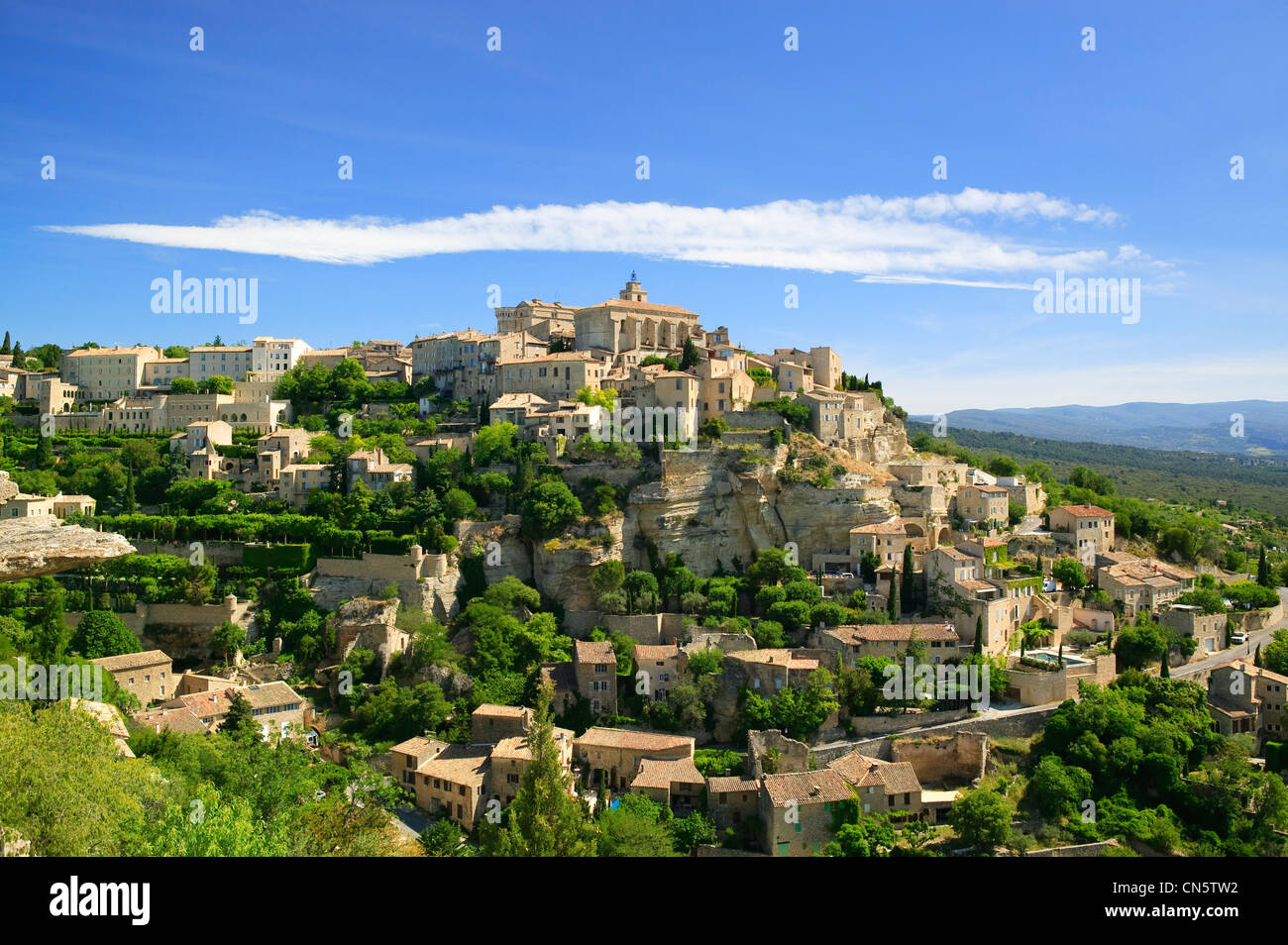 gordes vaucluse provence alpes cote d azur france stock photo 47457790 alamy. Black Bedroom Furniture Sets. Home Design Ideas