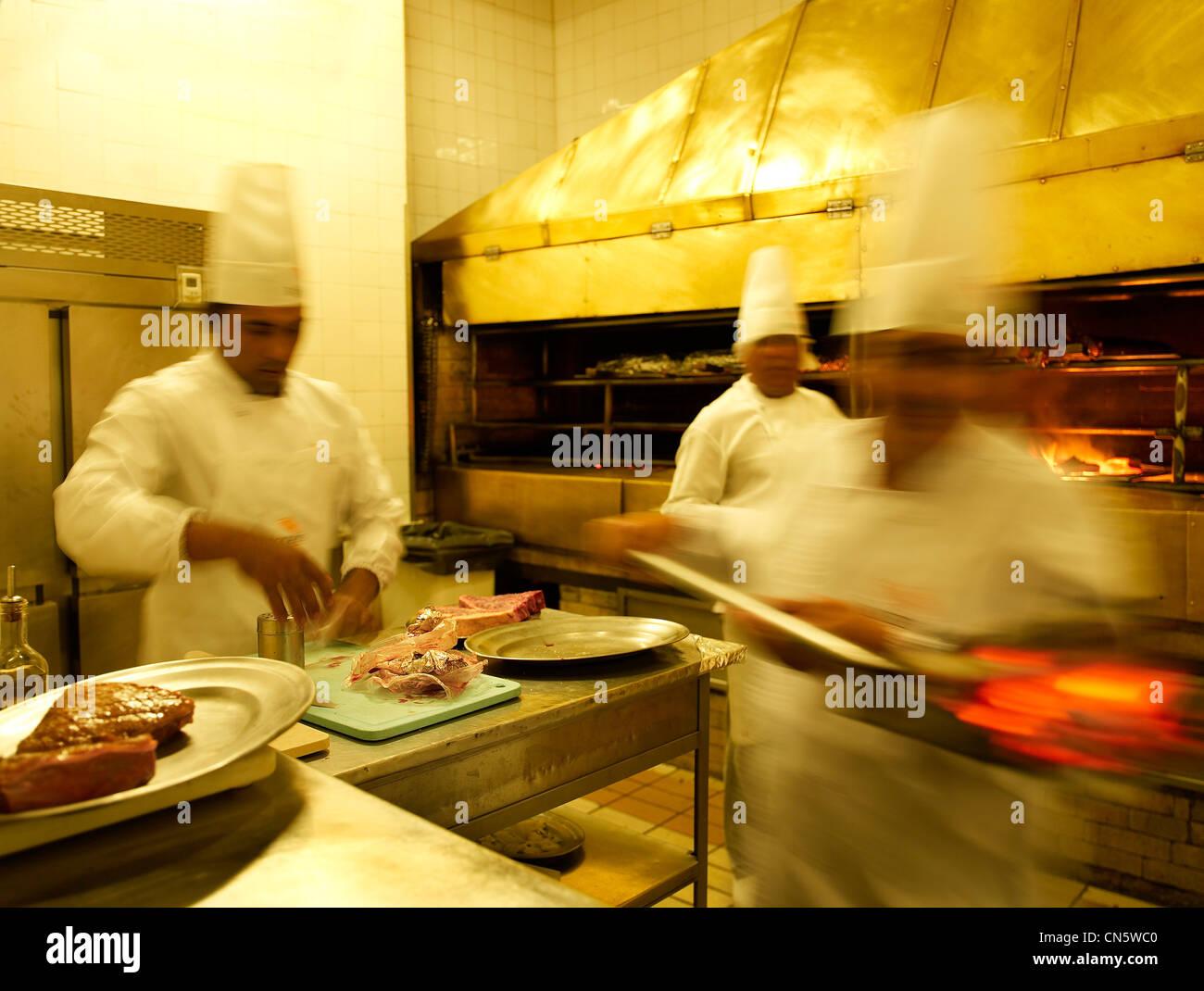 Brazil são paulo feature são paulo confidential rodeio restaurant stock image