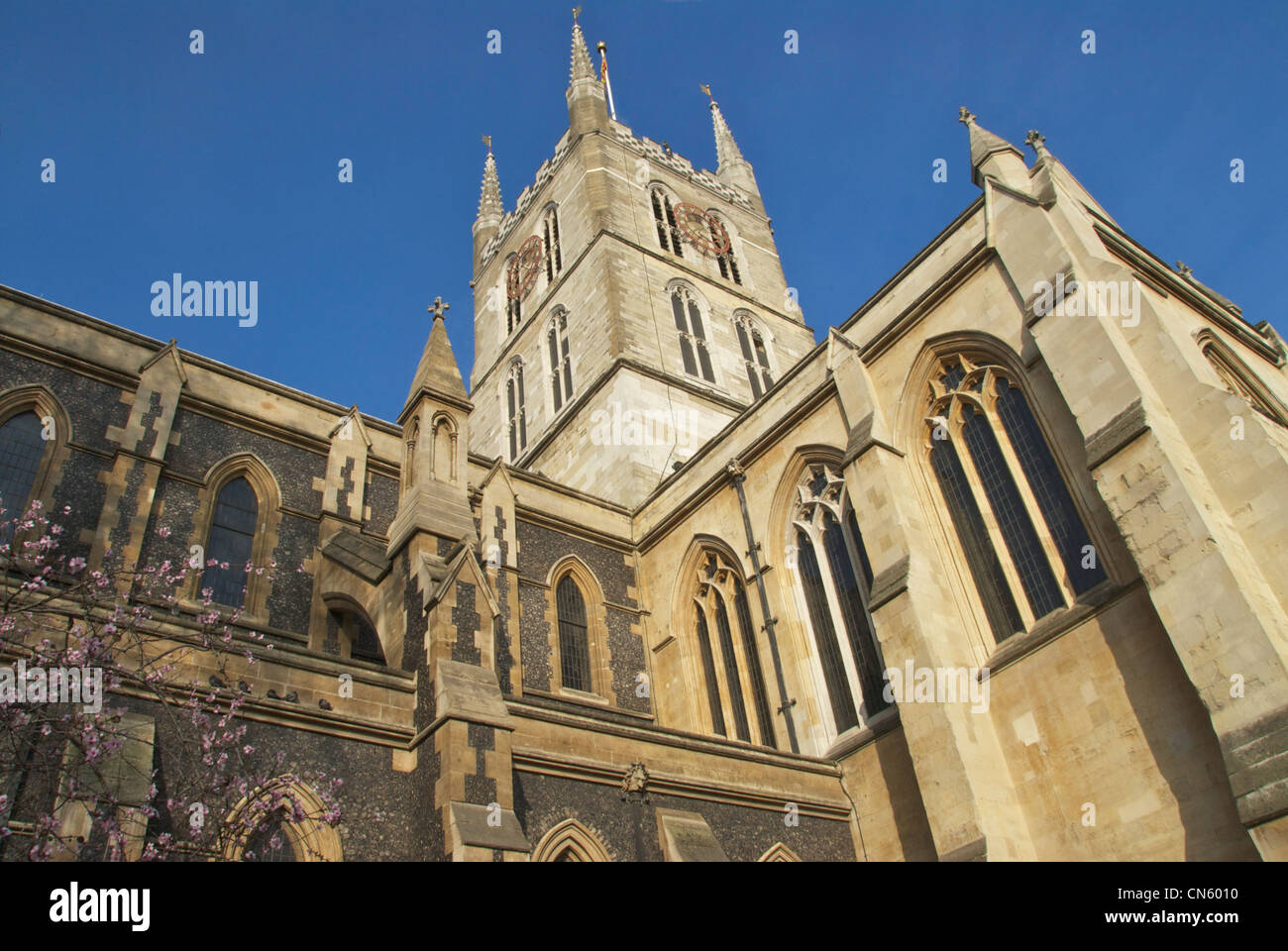 Southwark Cathedral - Stock Image