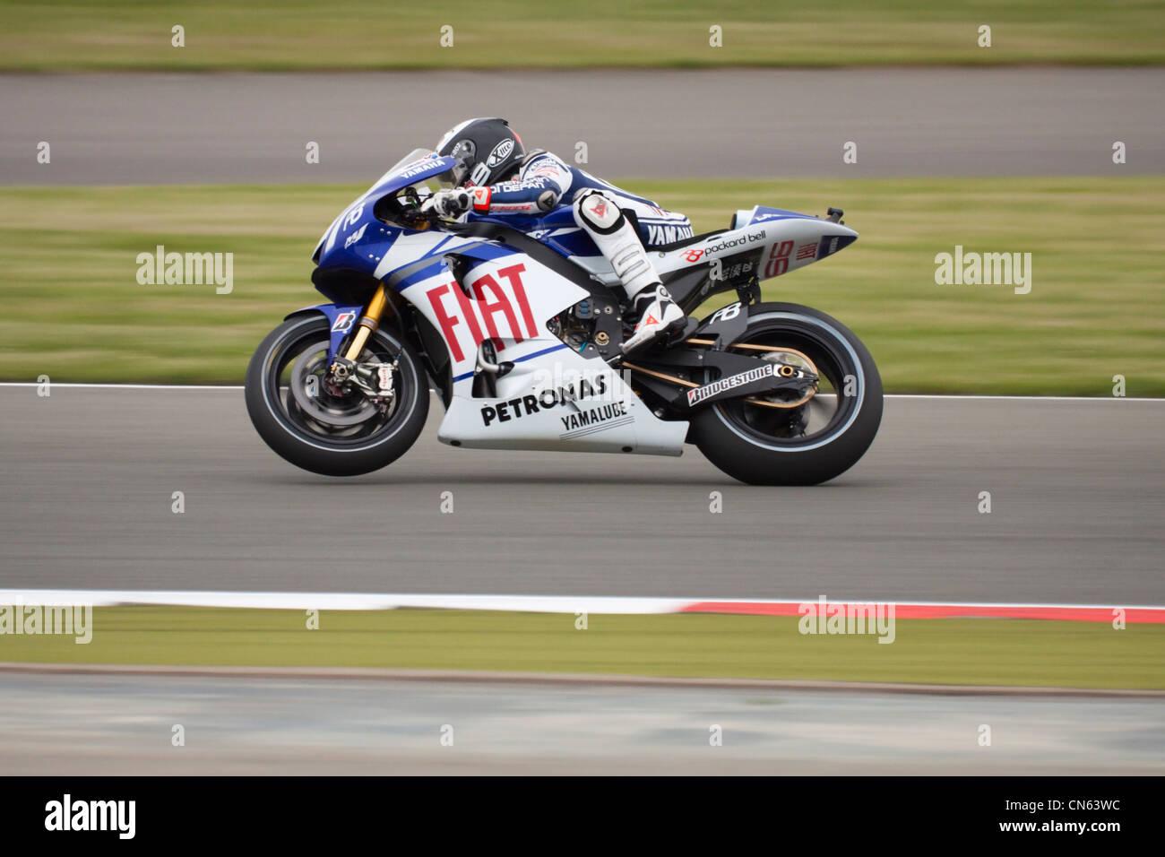 MotoGP 2010 Stock Photo
