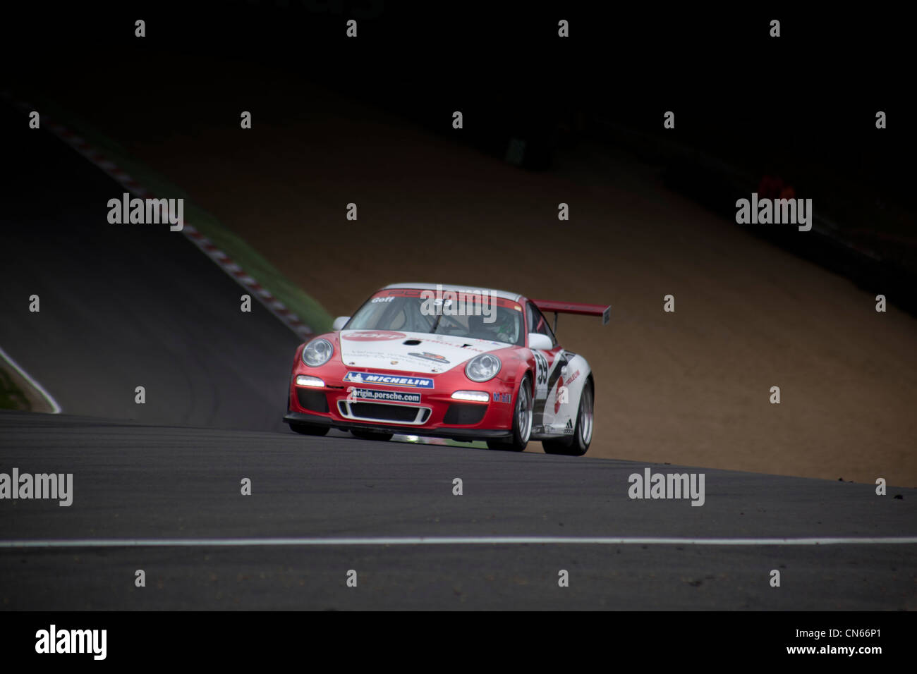 Porsche Carrera Cup, Brands Hatch 31 March 2012 - Stock Image