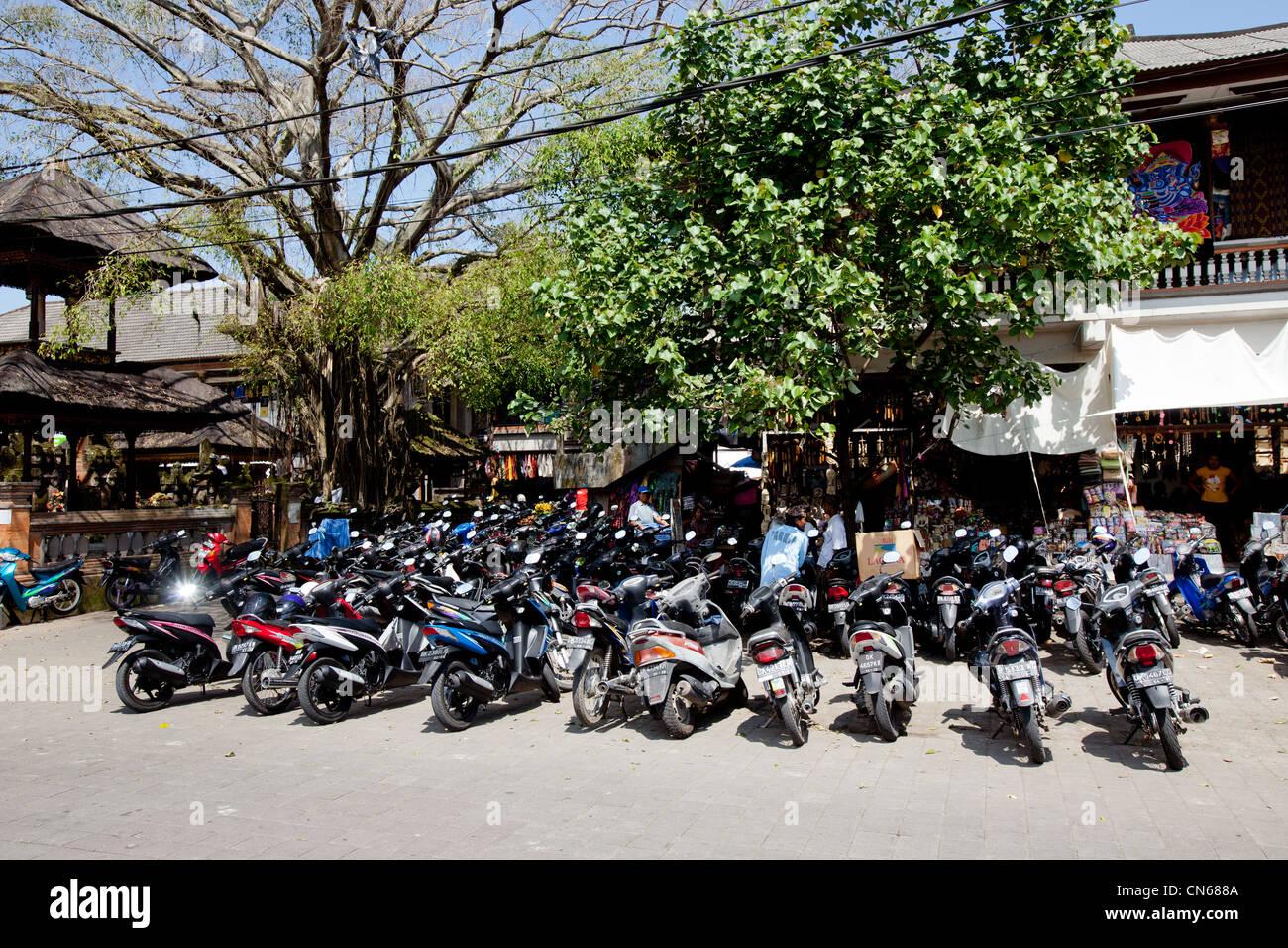 Motorbikes Bali Indonesia - Stock Image