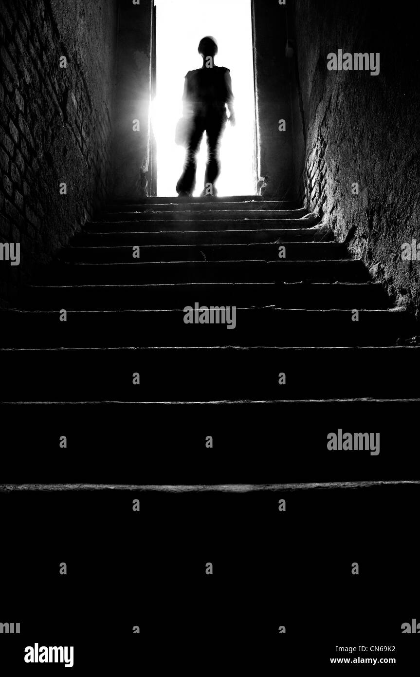 Flight of steps - Stock Image