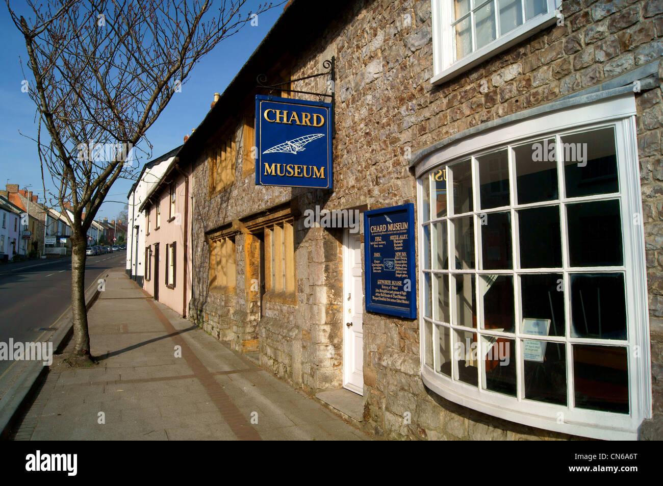 UK,Somerset,Chard Museum Stock Photo