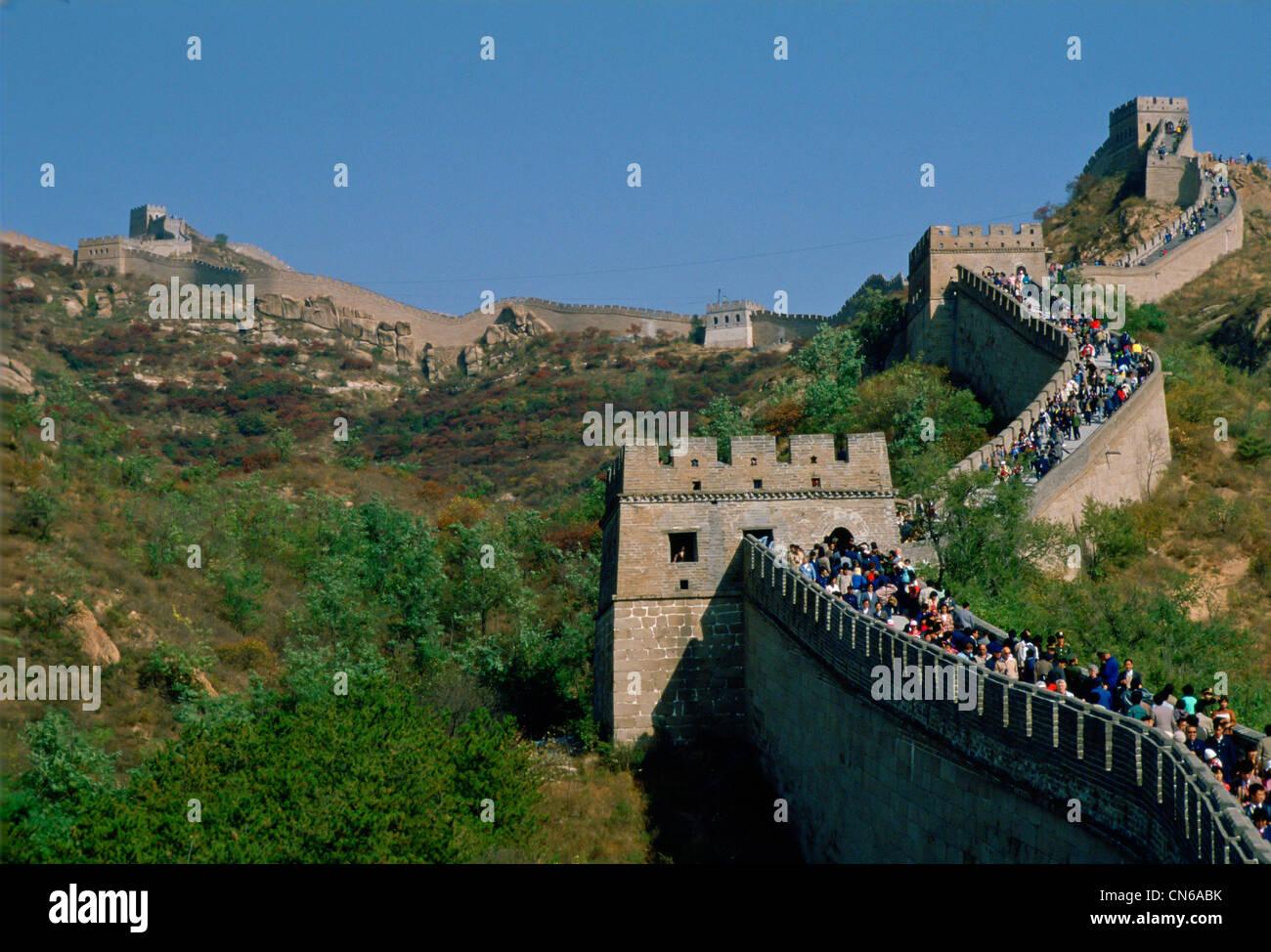 Great Wall Of China. - Stock Image
