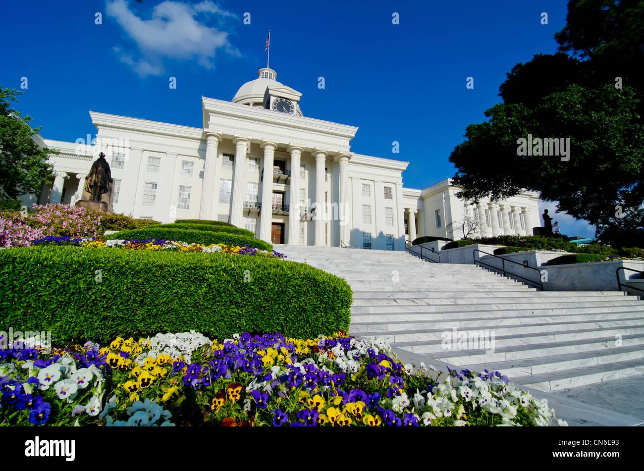 Alabama State Capitol - Stock Image