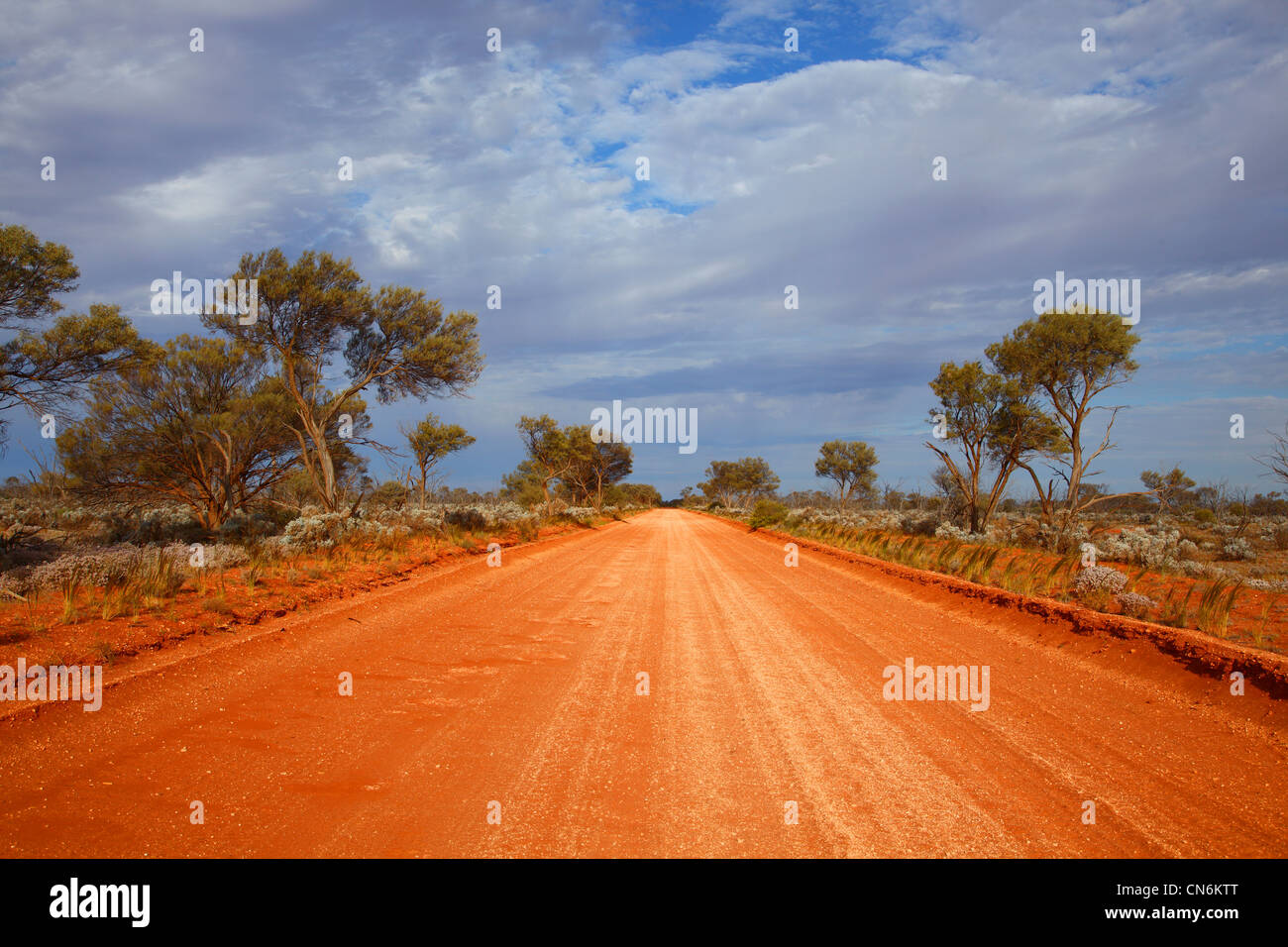 Outback road - Stock Image
