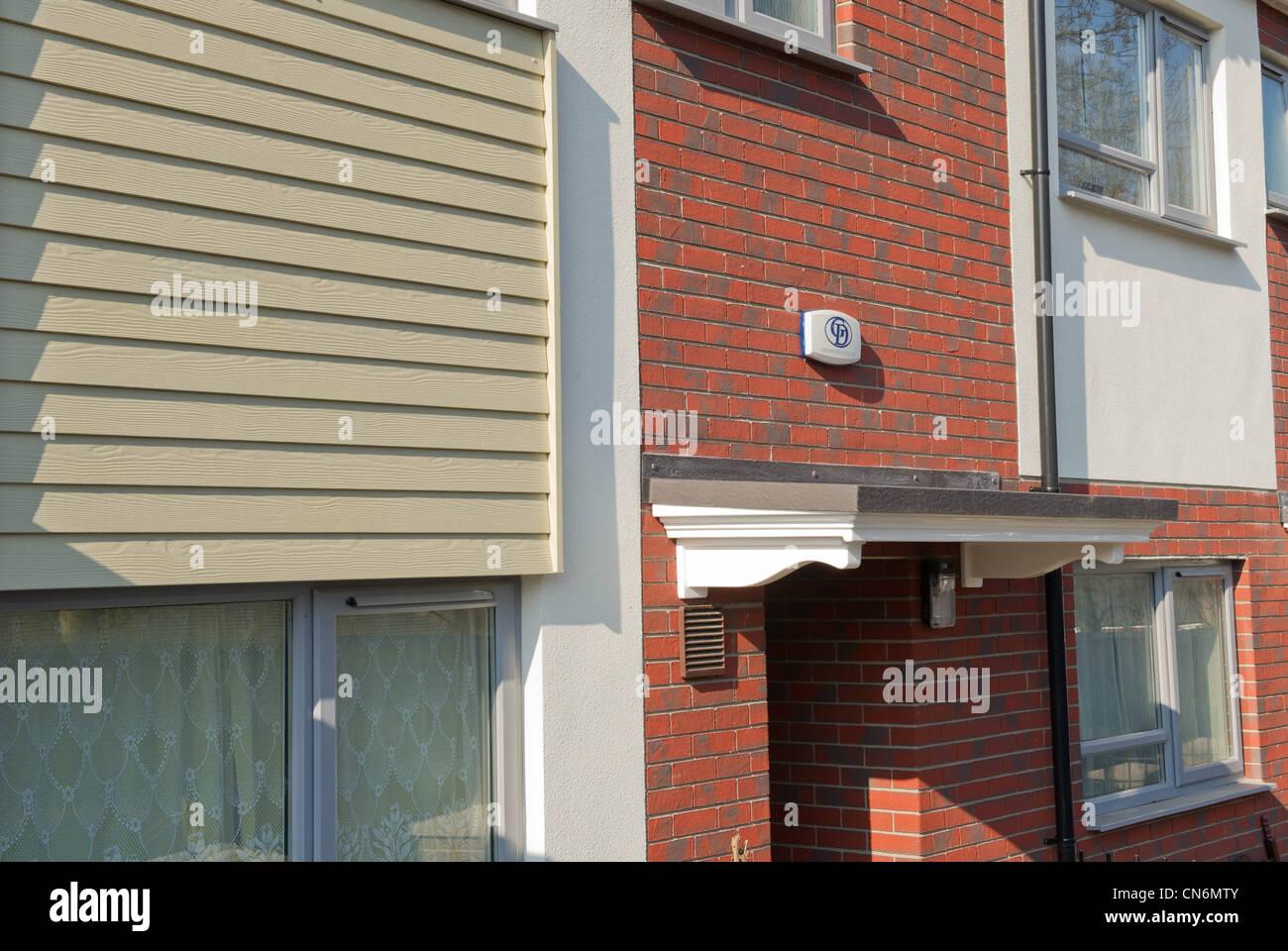 Refurbished housing in Sheffield - Stock Image