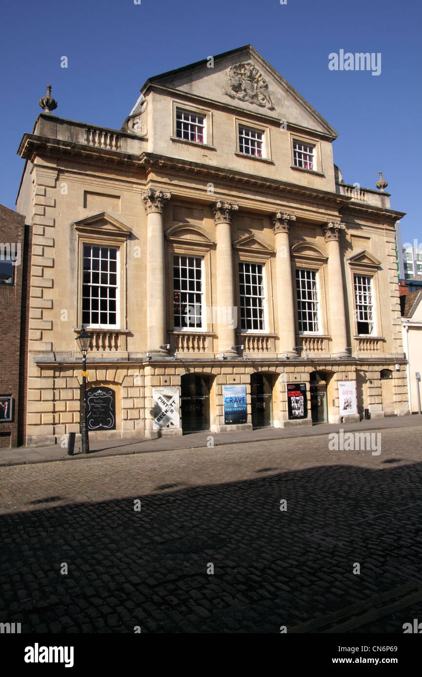 Theatre Royal King Street Bristol home of Bristol Old Vic theatre company - Stock Image