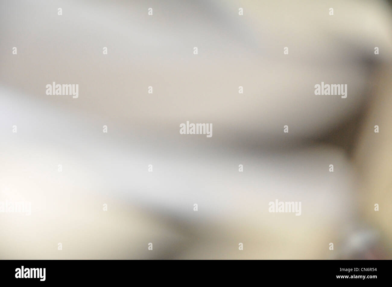 Abstract unfocused white gray background - Stock Image