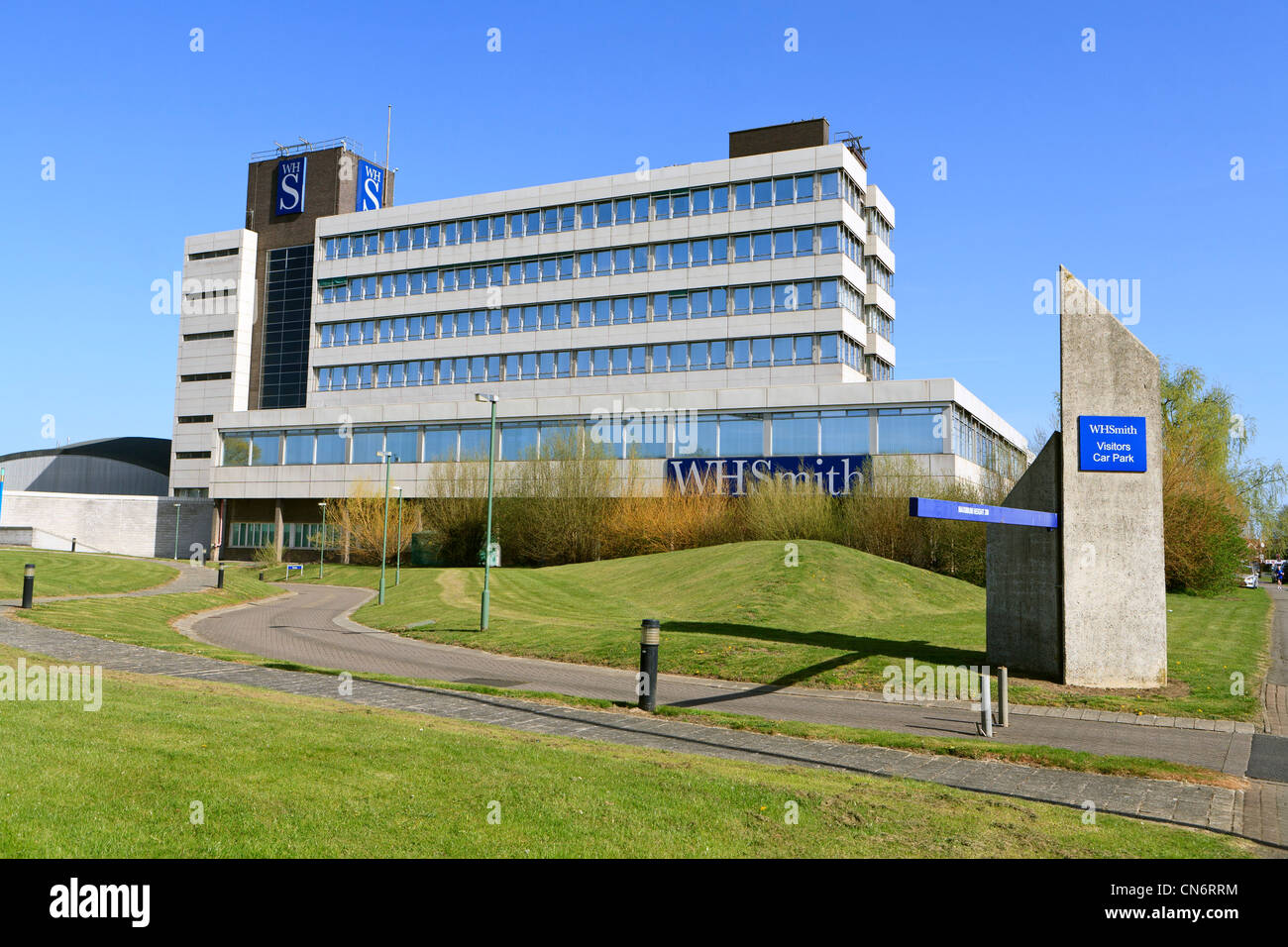 WH Smith offices and distribution centre Swindon UK - Stock Image