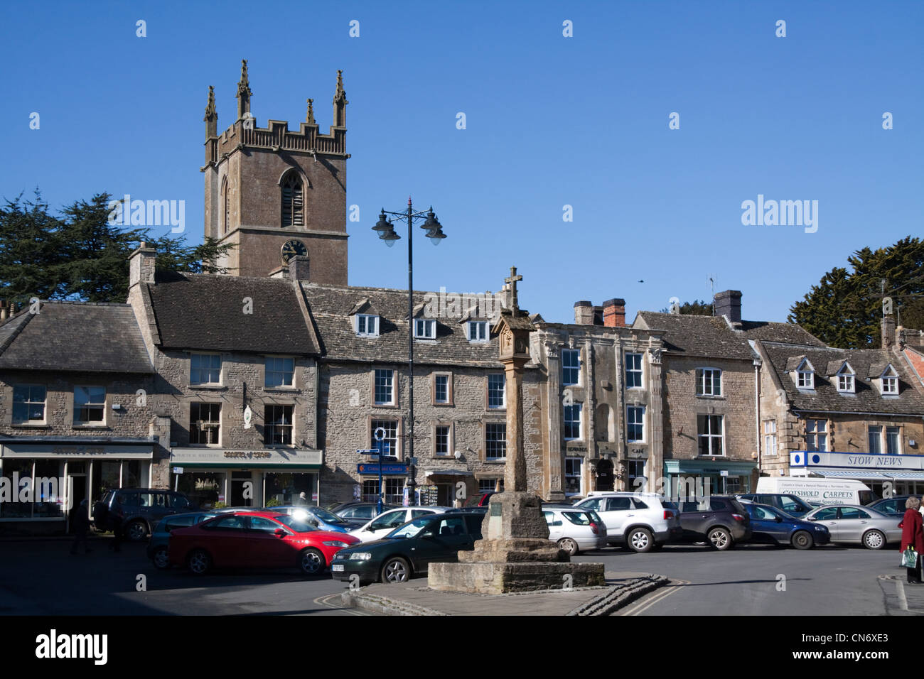 Stow on the Wold - Stock Image