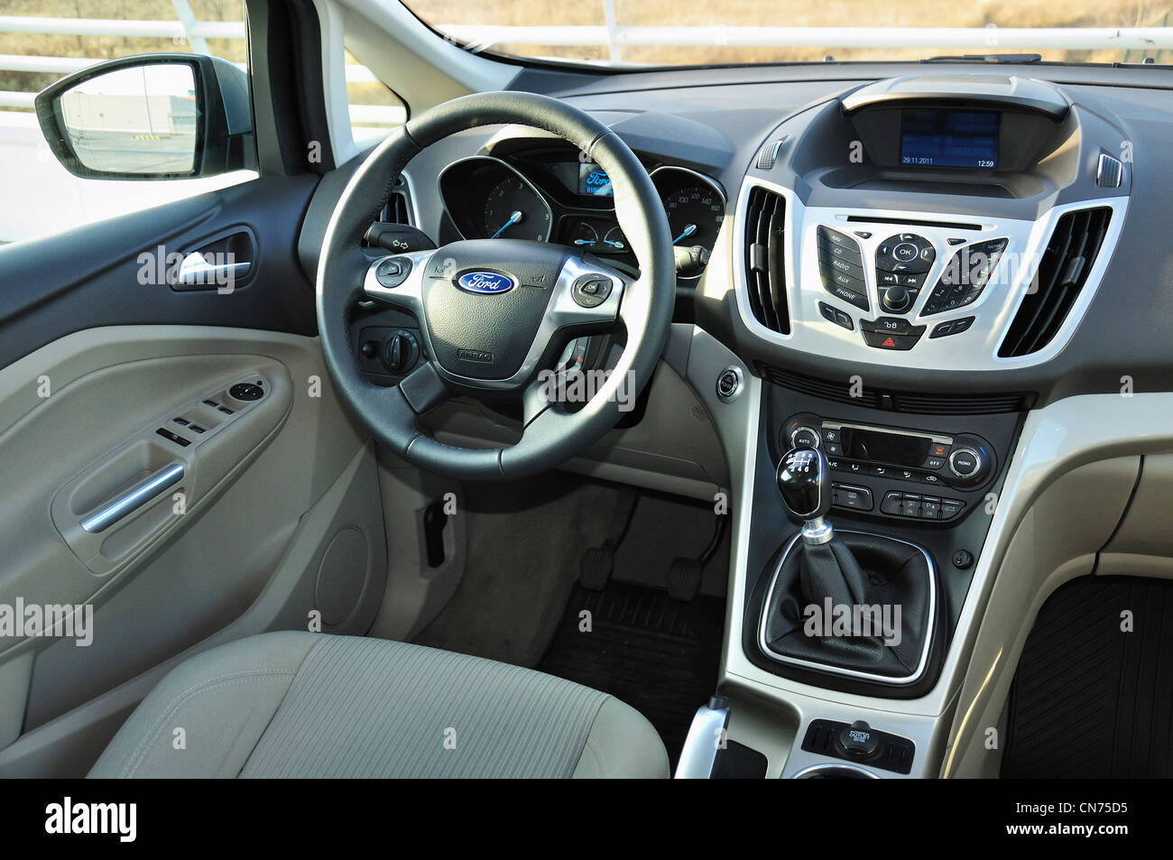 Ford Ford Grand C Max Stock Photos & Ford Ford Grand C Max Stock ...