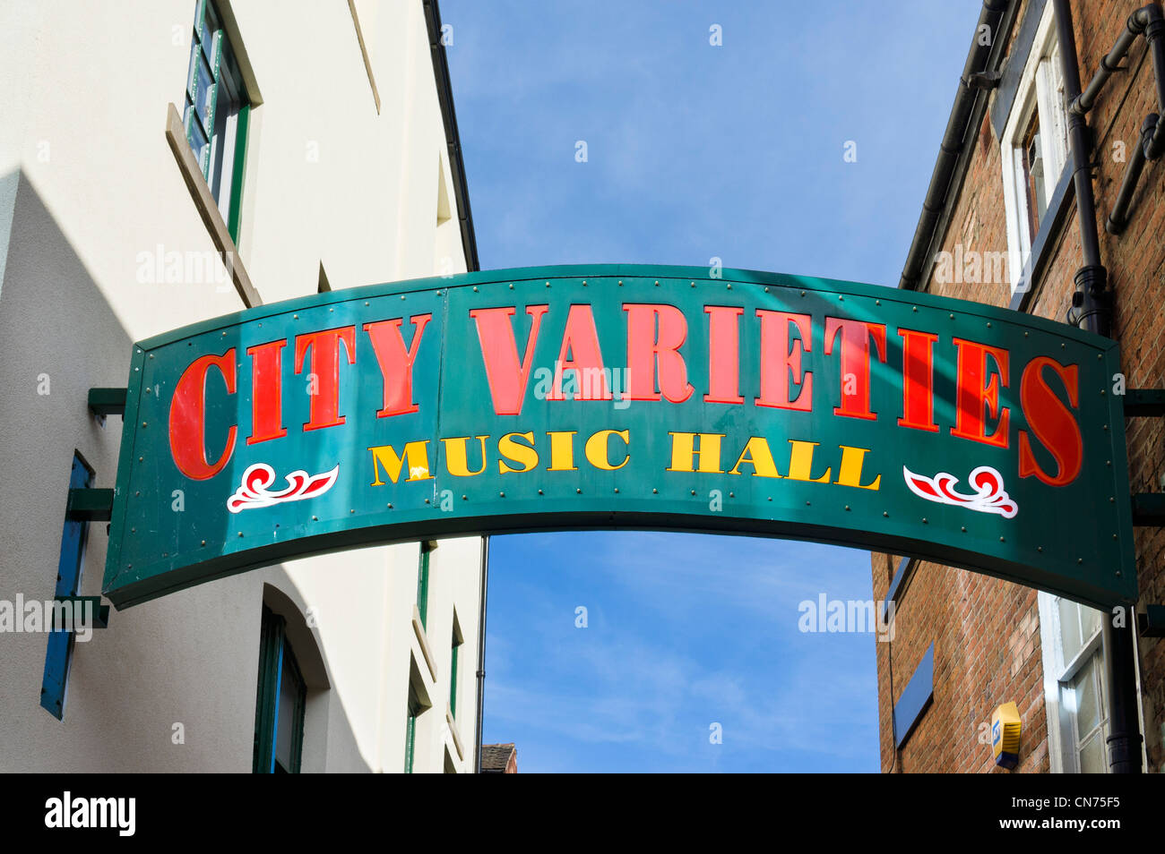 Leeds City Varieties Music Hall, Swan Street, just off Briggate, Leeds, West Yorkshire, England - Stock Image