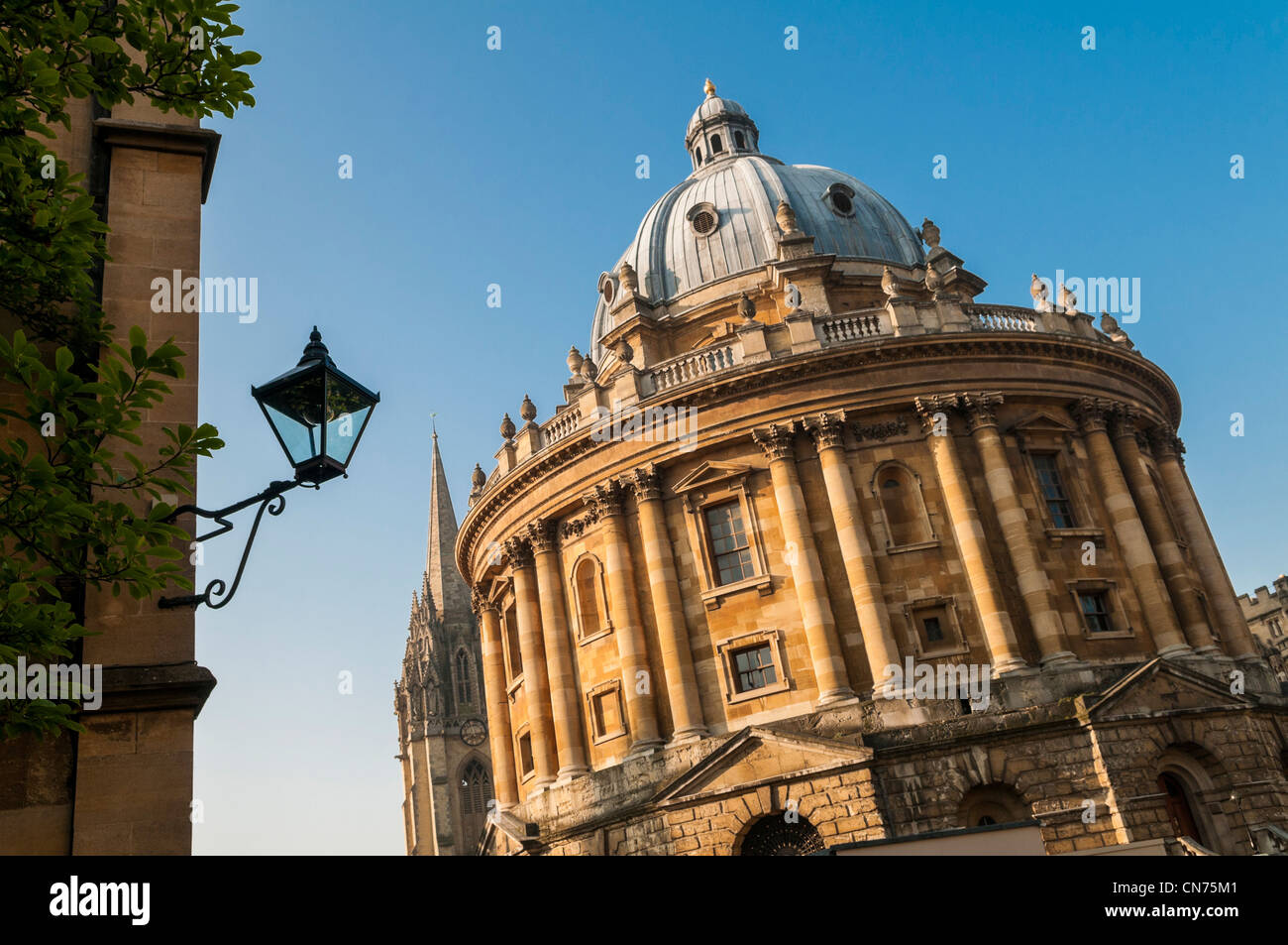 Radcliffe Camera building in Oxford, England, UK - Stock Image