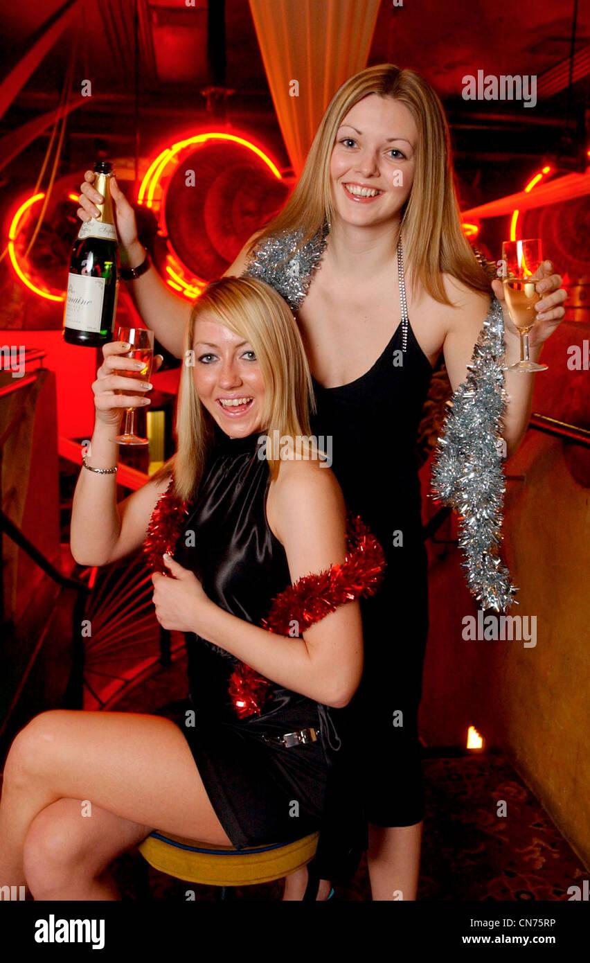 Girls party partying celebrations women ladies uk - Stock Image