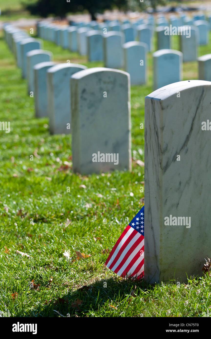 Arlington National Cemetery, Washington DC, USA - Stock Image