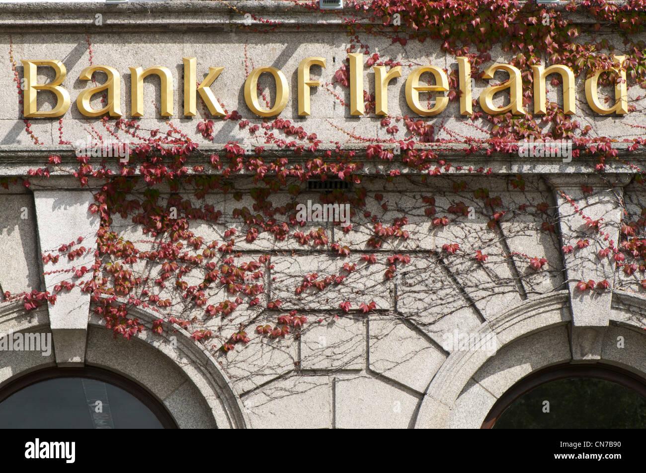 Bank of Ireland - Stock Image