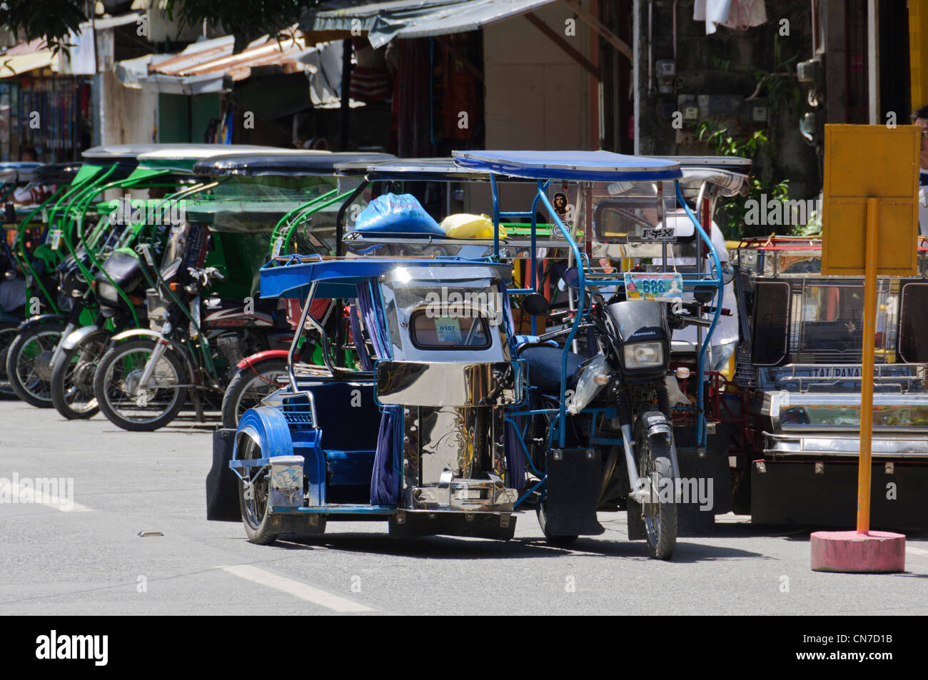 Touristic Motorcycle With Sidecar Stock Photos & Touristic